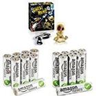 Ghost Hunt Game with AmazonBasics Performance Alkaline Batteries [8 AA + 8 AAA]